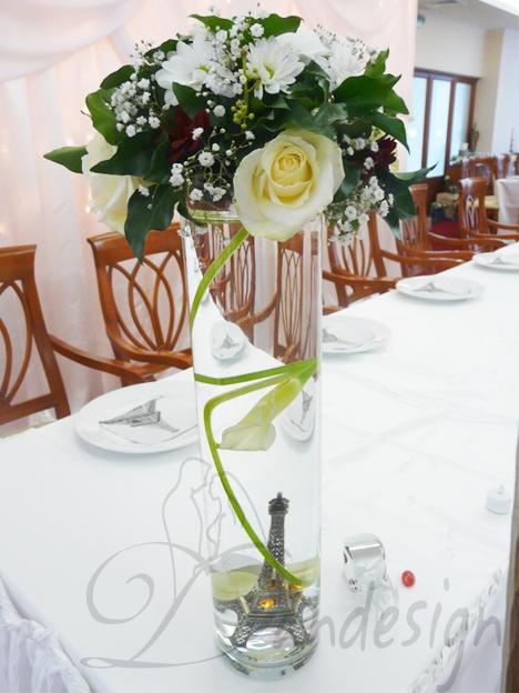 Cilindru Sticla Decoratiuni Nunta Aranjamente Nunti