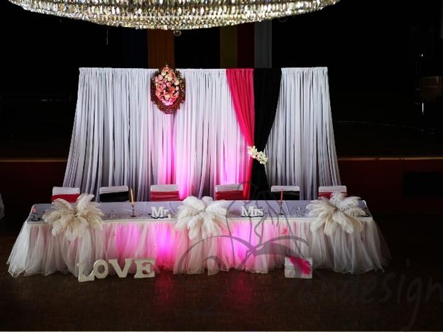 Decor In Spatele Mesei Mirilor Decoratiuni Nunta Aranjamente Nunti